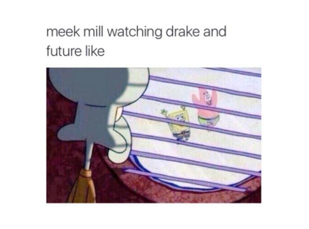 Drake Meek Mill