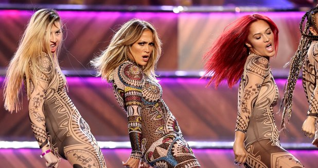 Jennifer Lopez American Music Awards 2015 Performa