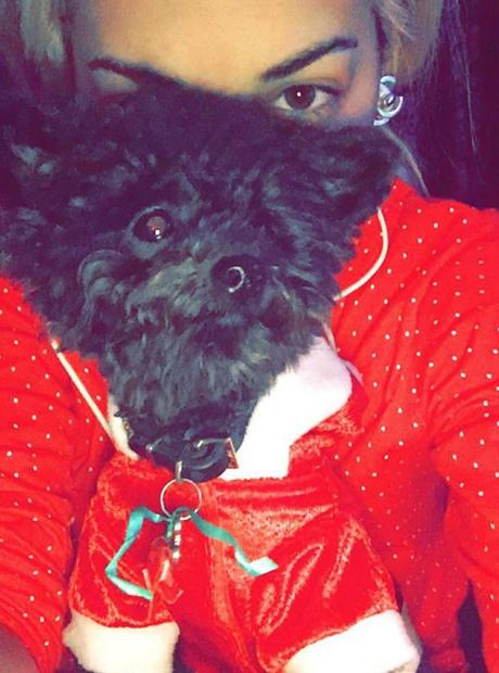 Rita Ora Christmas 2015