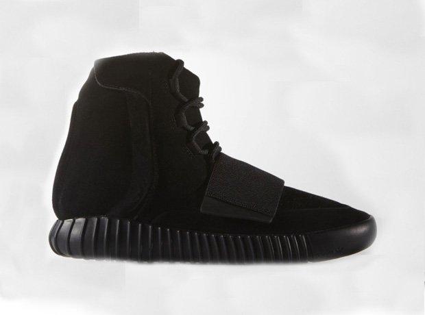 Black Yeezy 750