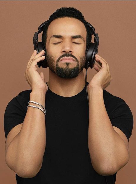 Craig David recreates iconic album cover 2016