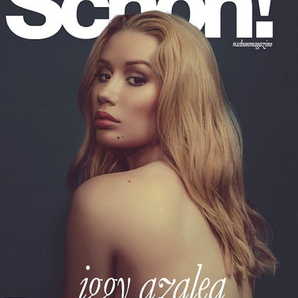 Iggy Azalea on the cover of Schon! Magazine