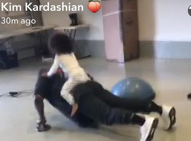 Kanye West North West Press Up