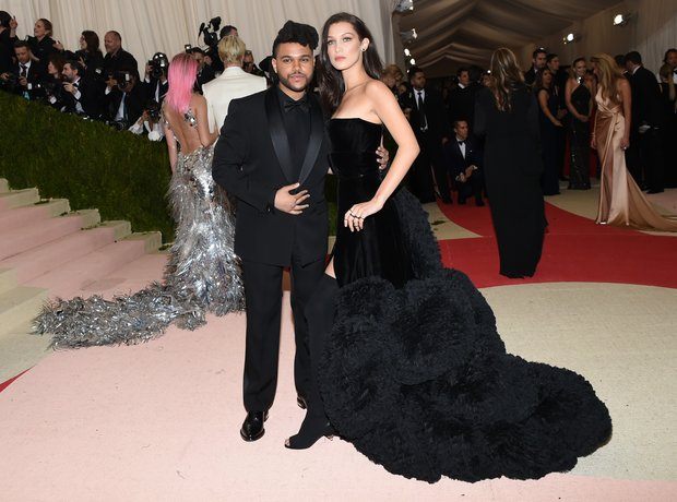 The Weeknd and Bella Hadid