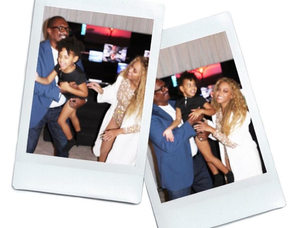 Beyonce posts new family photo of her father and B
