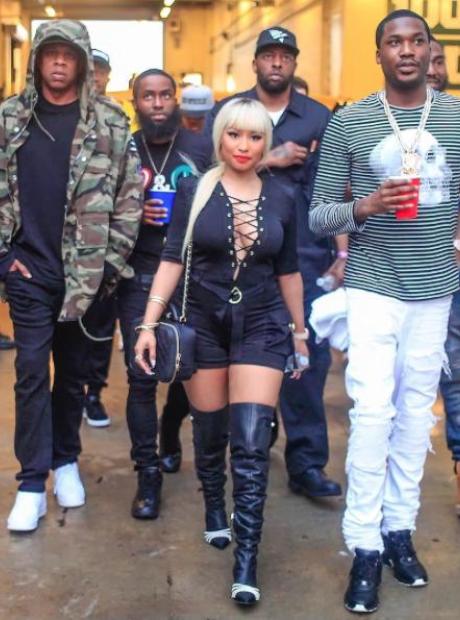 Meek Mill Nicki Minaj Jay Z