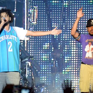 J. Cole and Chance the Rapper