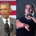 Drake and Obama