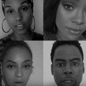 Alicia Keys Rihanna Beyonce Chris Rock