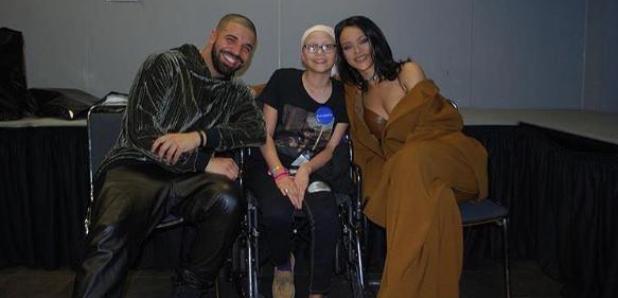 Drake Rihanna Megan Flores