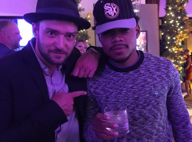 Justin Timberlake and Chance The Rapper