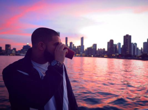 Drake Looking Out Over Water