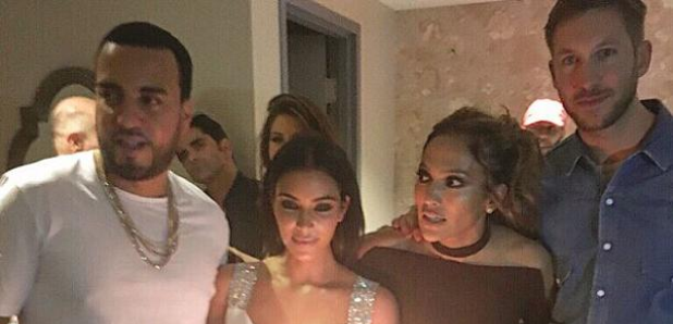 French Montana Calvin Harris Kim Kardashian J Lo