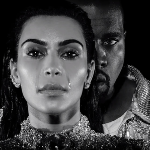 Kim and Kanye Wolves Video