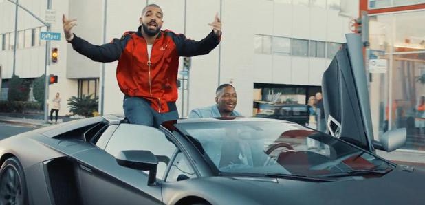 Drake and YG in car