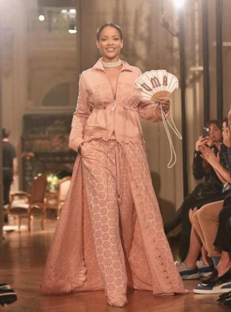 Rihanna Paris Fashion Week Fenty x Puma