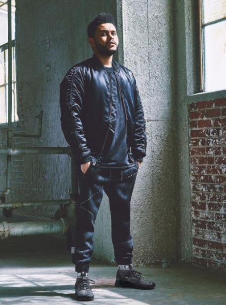The Weeknd Puma Photoshoot