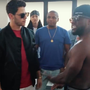 Nick Jonas Kevin Hart Rap Battle