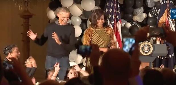 Obama Dad Dancing