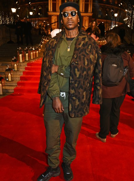 Skepta attends The Fashion Awards 2016