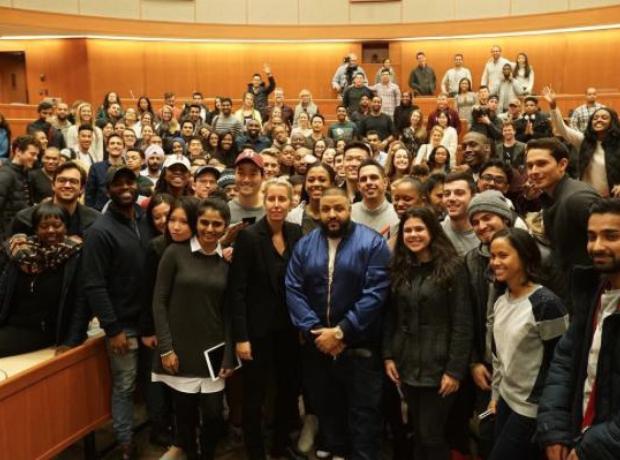 DJ Khaled at Harvard