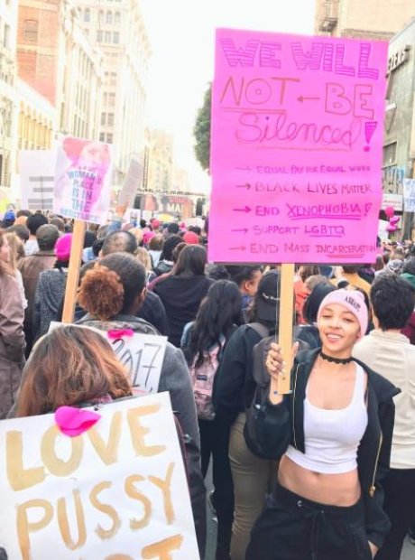 Tinashe Women's March