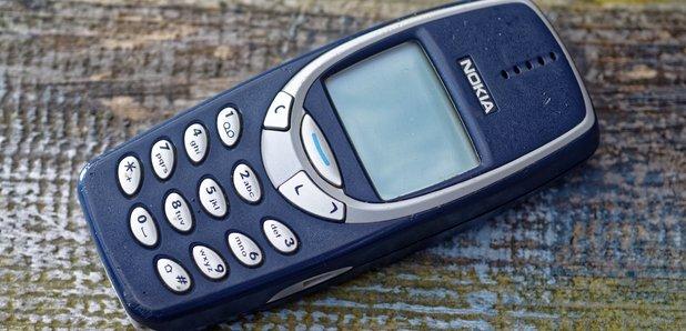 Nokia 3310 mobile phone 2000