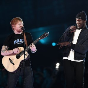 Ed Sheeran and Stormzy BRIT Awards 2017