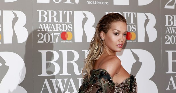 Rita Ora BRIT Awards 2017 Red Carpet Arrivals