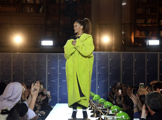 Rihanna takes to the runway for her Fenty Puma sho