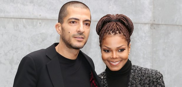 Janet Jackson and husband