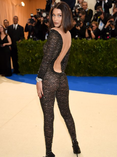 Bella Hadid at the Met Gala 2017
