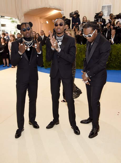 Migos at the Met Ball 2017