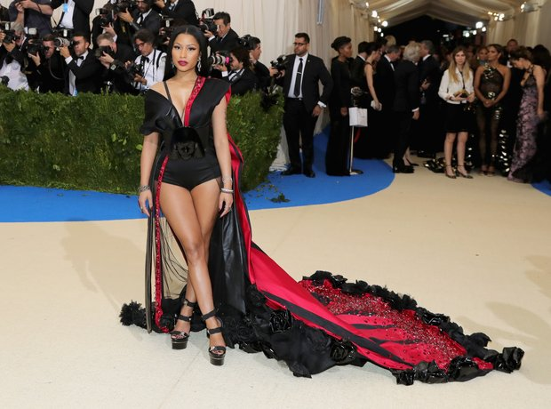 Nicki Minaj at the Met Gala 2017