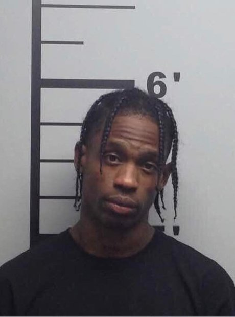 Travis Scott Mugshot