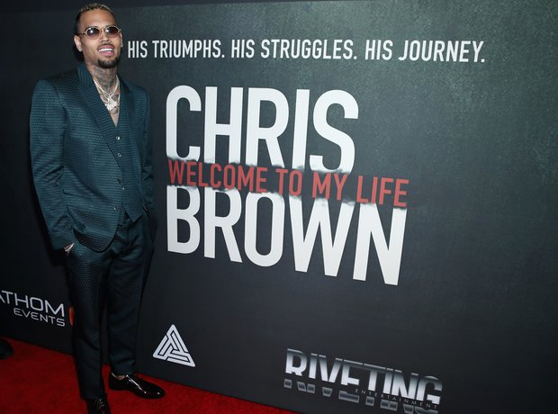 Chris Brown Welcome To My Life Premiere