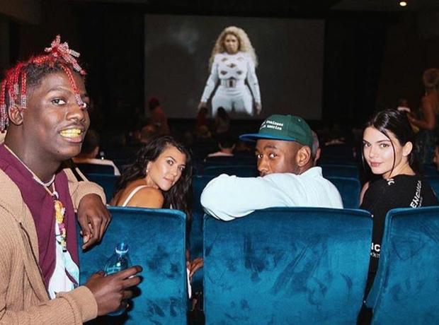 Diddy Movie Premiere Kardashians Lil Yachty