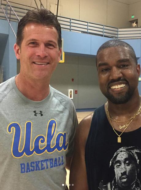 Kanye West 2 Chainz Basketball