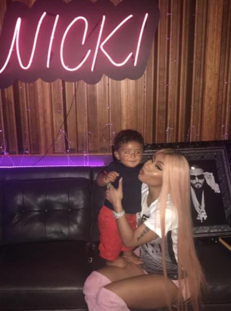Nicki Minaj and Asahd Khaled